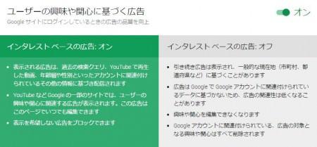 ユーザーの興味や関心に基づく広告