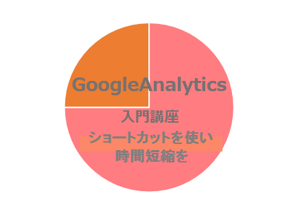 GoogleAnalytics入門講座~ショートカットを使い時間短縮を~
