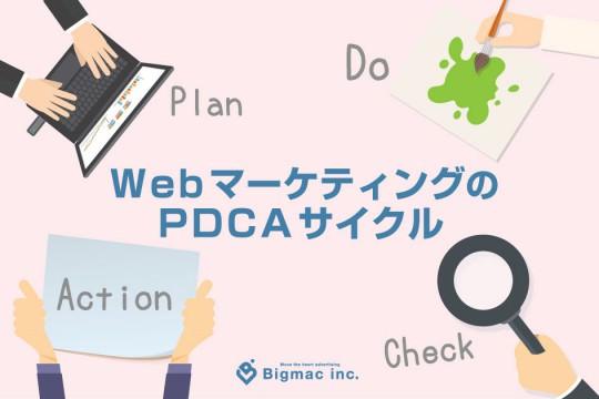 WebマーケティングのPDCAサイクル