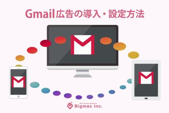 Gmail広告の導入・設定方法