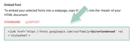 Google Fontsの導入方法5