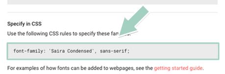 Google Fontsの導入方法6