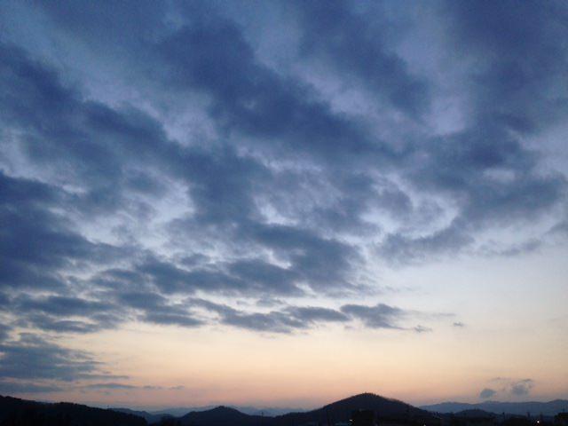 雲や陰があるから