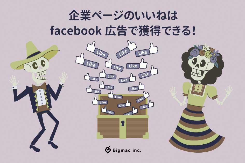 企業ページのいいねはfacebook広告で獲得できる!