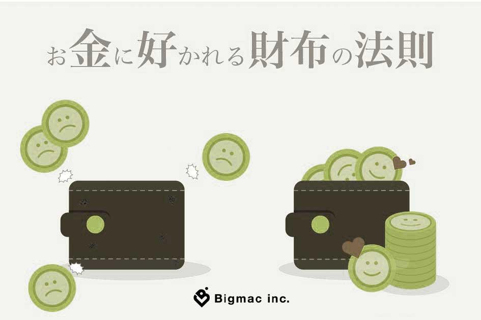 お金に好かれる財布の法則