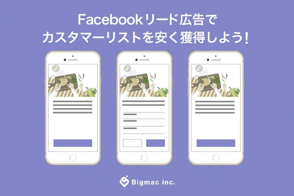 Facebook リード広告でカスタマーリストを安く獲得しよう!