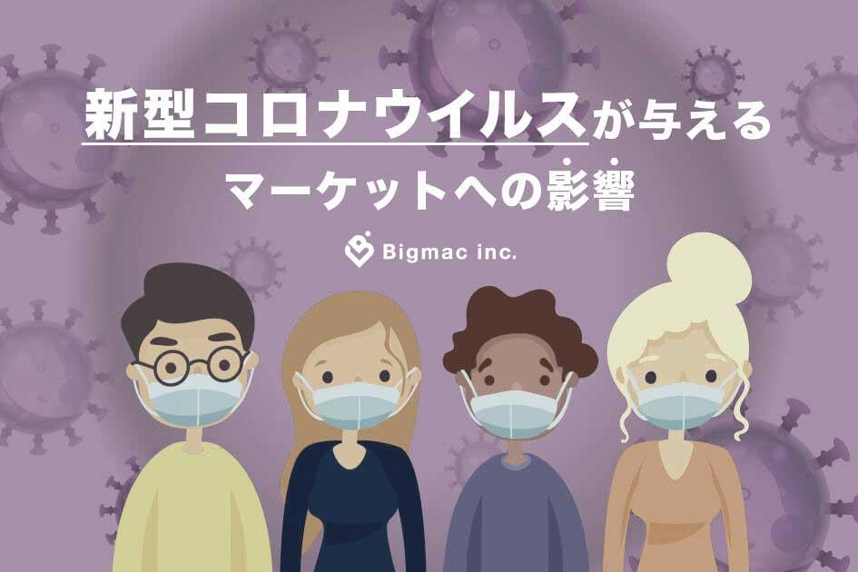 新型コロナウイルスが与えるマーケットへの影響