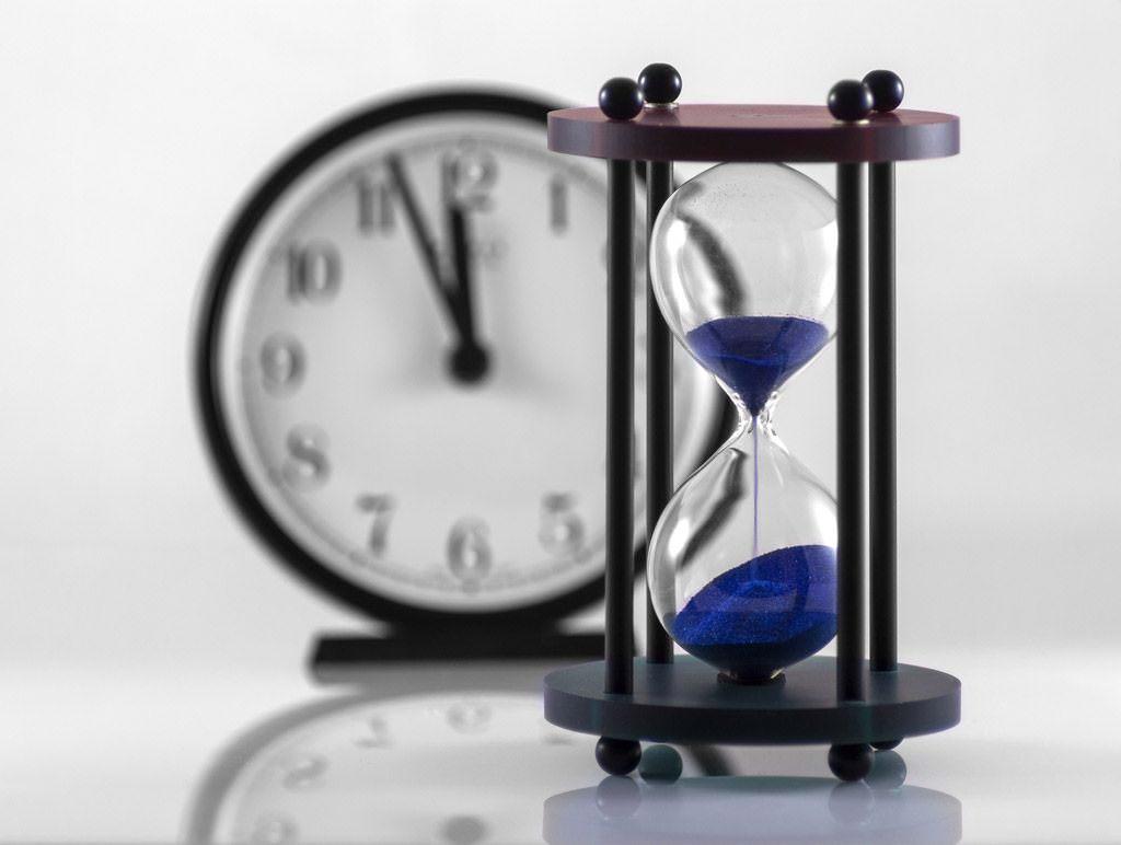 時間を有効に使う意識