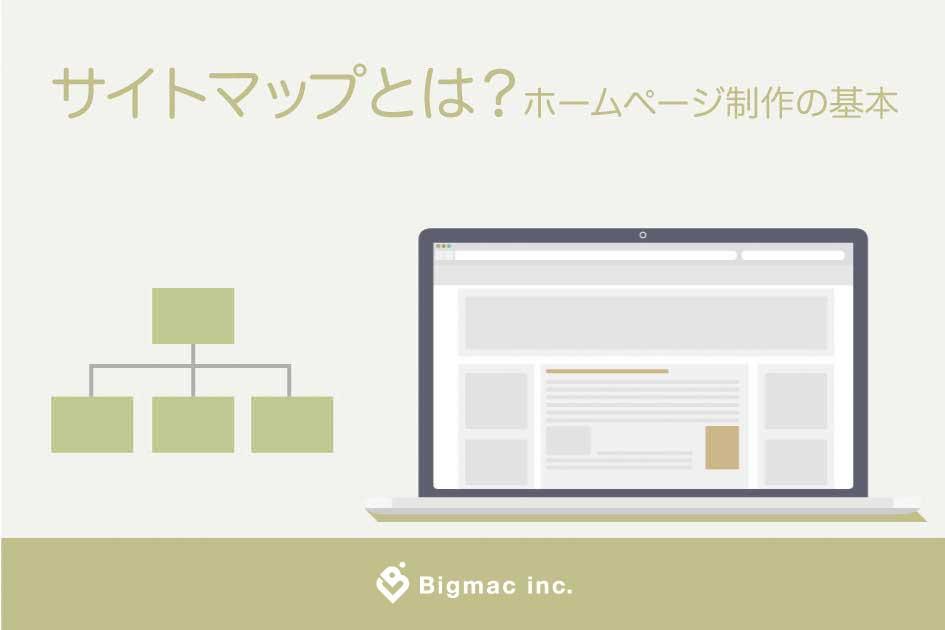 サイトマップとは?ホームページ制作の基本