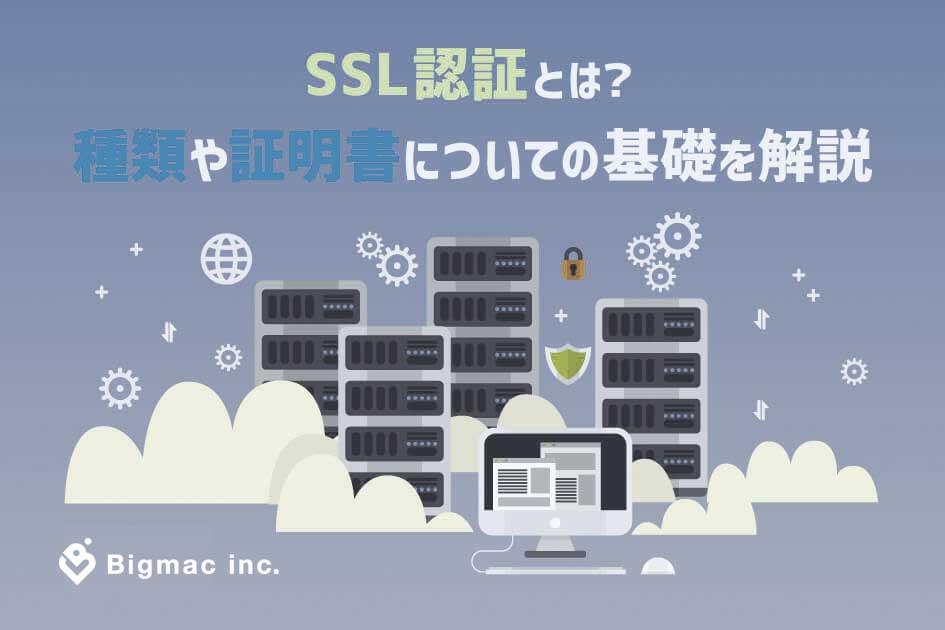 SSL認証とは?種類や証明書についての基礎を解説